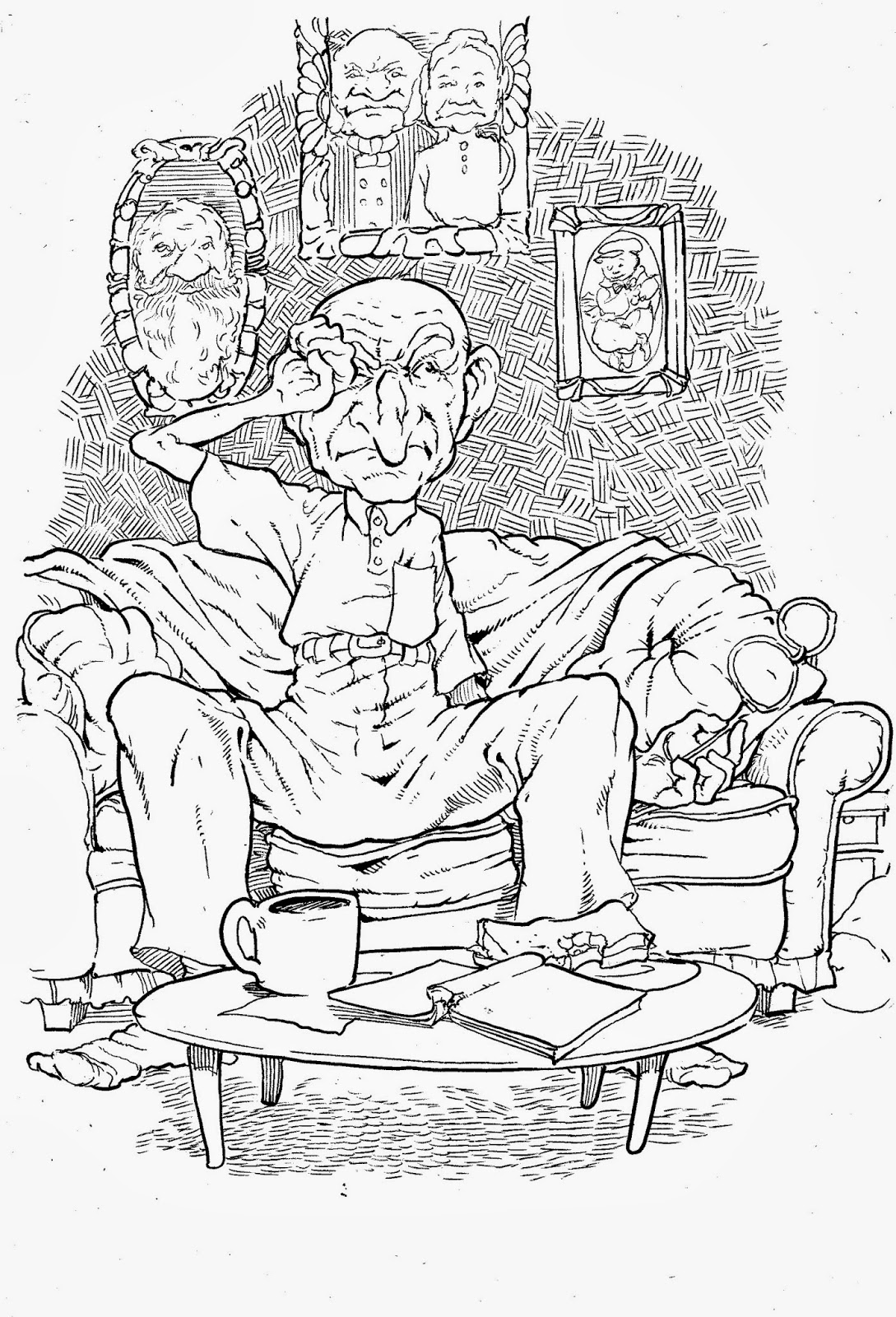 Free Coloring Pages Of Blind Bartimaeus Blind Bartimaeus Coloring Page