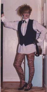 Proto-cosplay, circa 1984