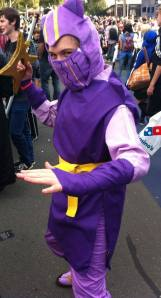 Kennen from League of Legends, a.k.a. the author's son